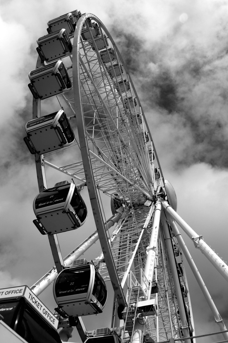 Photograph Not the London Eye - Brighton by julian john on 500px