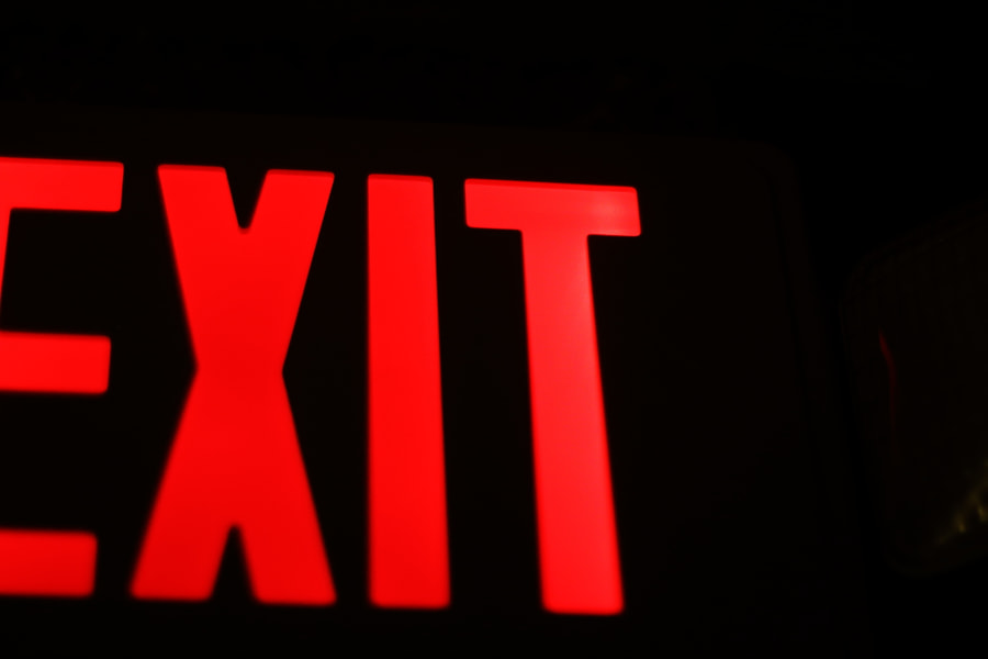 Exit by Jeff Carter on 500px.com