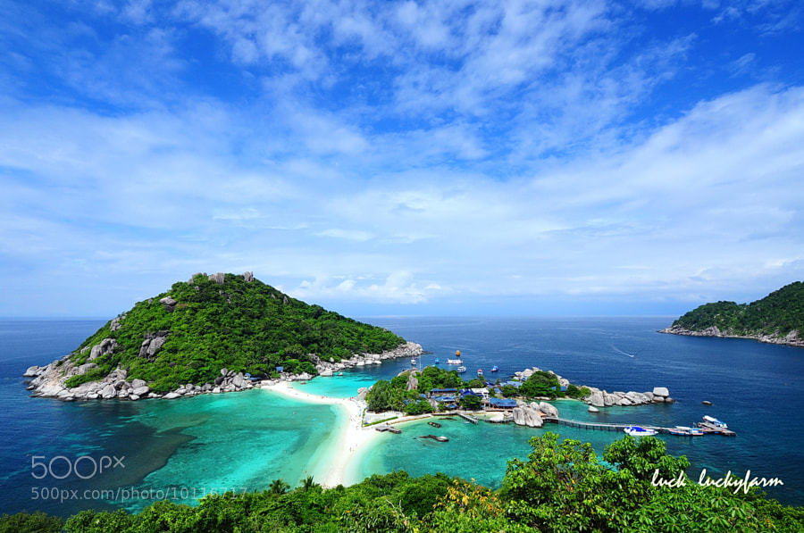 Photograph Nangyuan Island  (Suratthani) Thailand by Luck Luckyfarm on 500px