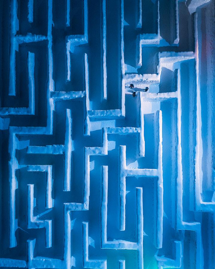 Snow maze  by Grzegorz Tatar on 500px.com