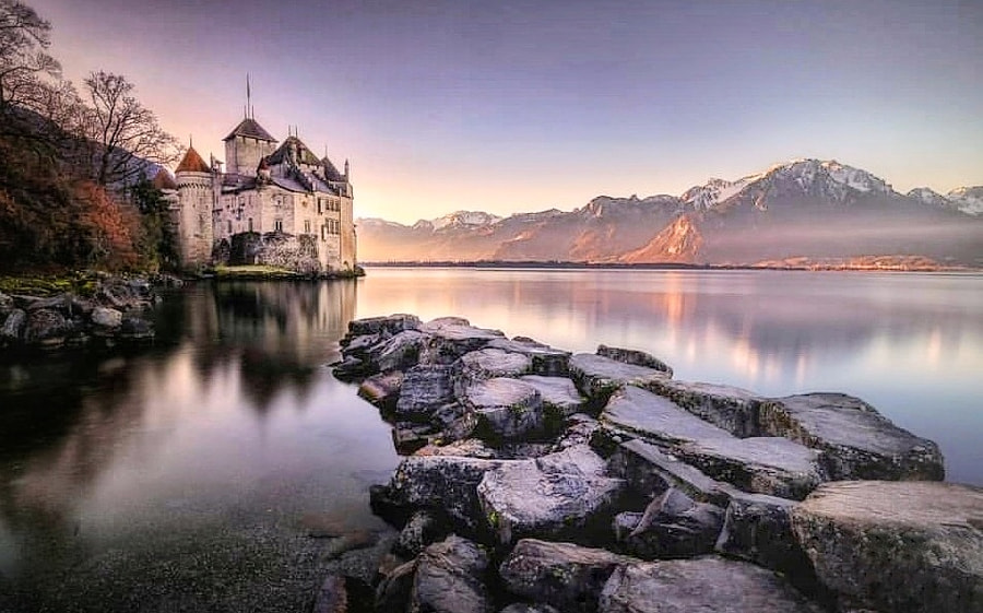 Chillon Castle by Alessandra  on 500px.com