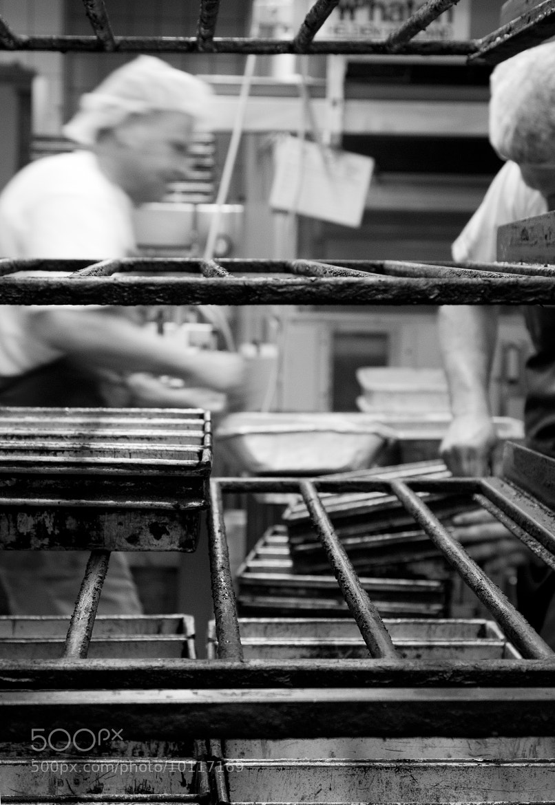 Photograph working at the bakery 1 by Jasper van den Heuvel on 500px