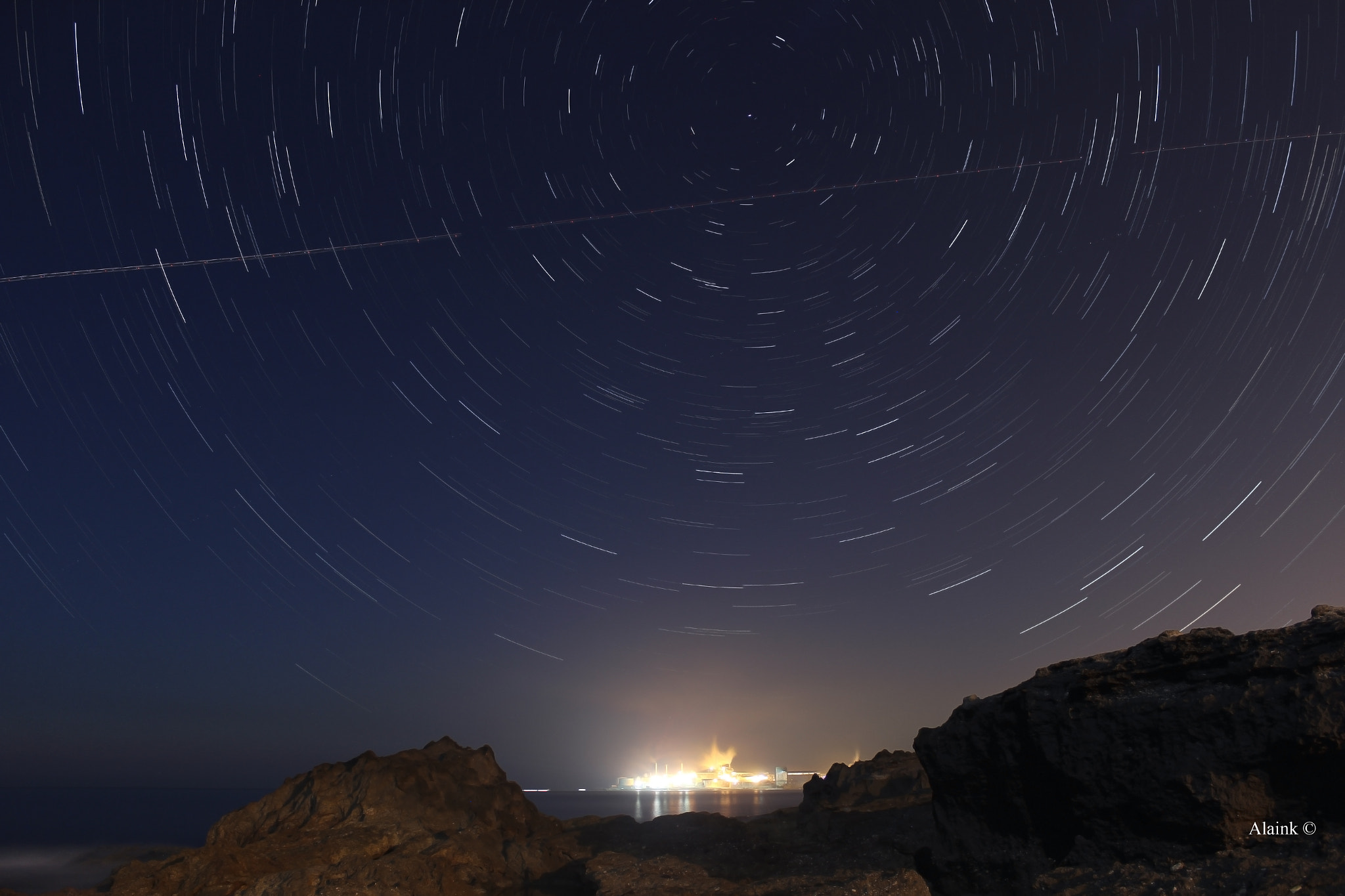 Photograph Star Trails... by Alain Khoury on 500px