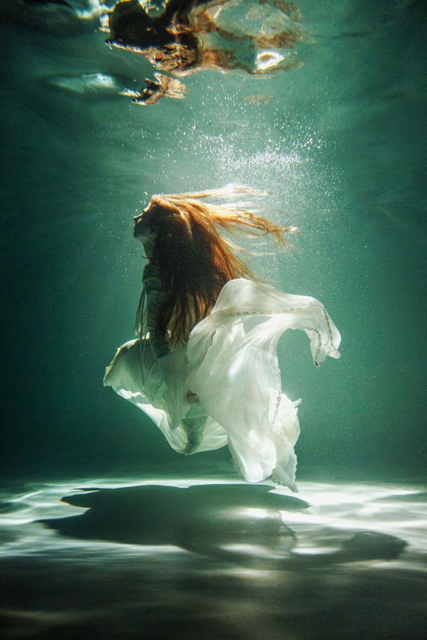 grace of the sea by Marie Dashkova on 500px.com