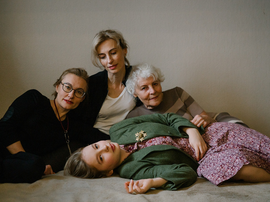 a family of 4 generations, Russia,Lyudmila,Inna,Tatyana,Varvara by Aks Huckleberry on 500px.com