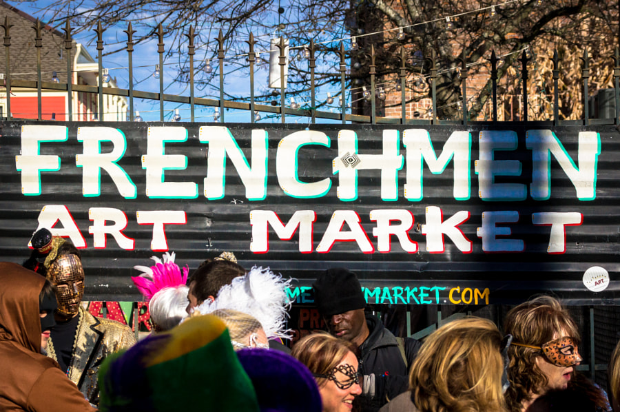 Photograph Frenchmen Art Market by Andy Roth on 500px