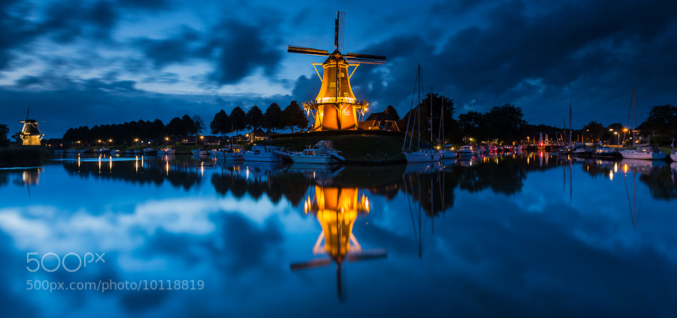 Photograph The Watchtower - Windmill The Hope, Dokkum, The Netherlands by Bas Meelker on 500px