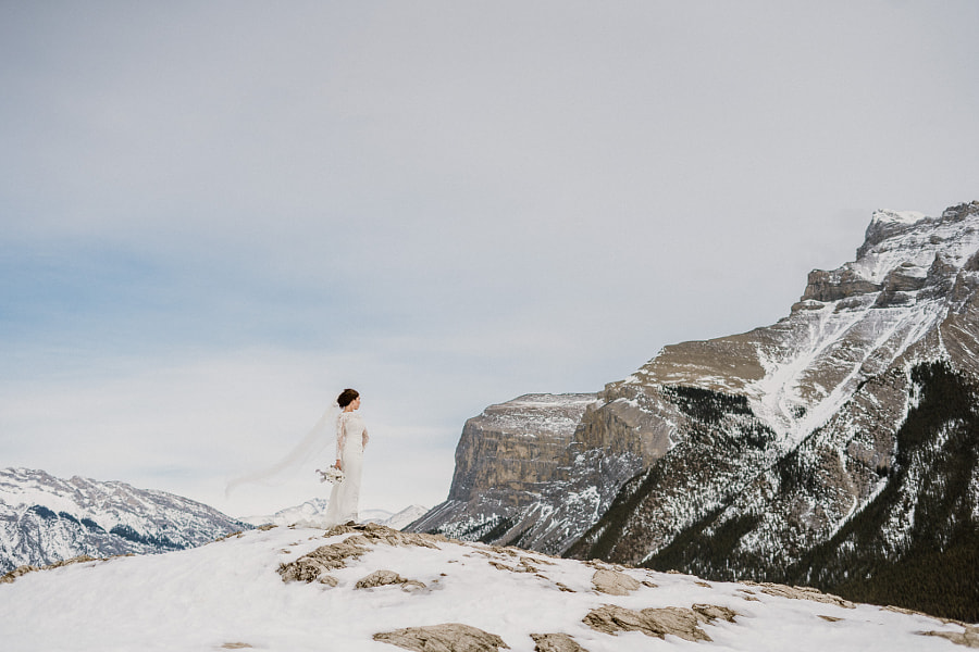 Mountain Bride oleh Carey Nash di 500px.com