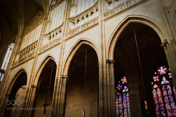 Photograph St. Vitus Cathedral II by Małgorzata M. on 500px