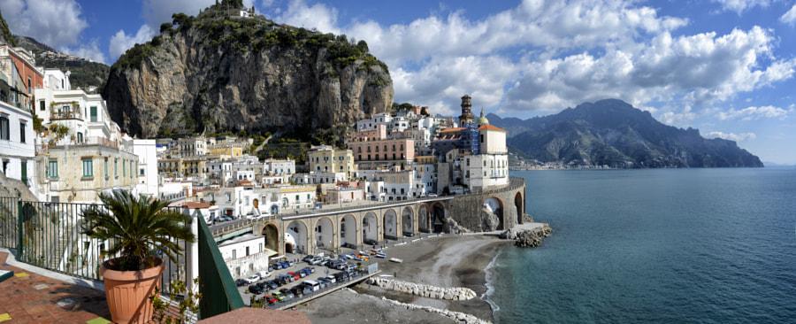 Atrani Panorama, Amalfi by Ettore  Mongelli on 500px.com