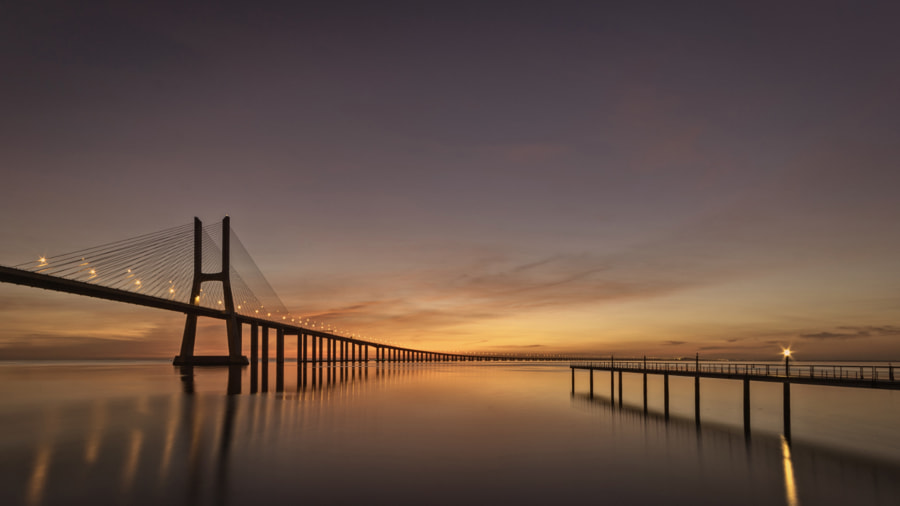 Just before sunrise by Ton Vernes on 500px.com