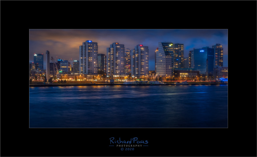 Skyline from Maaskade by Richard Paas on 500px.com
