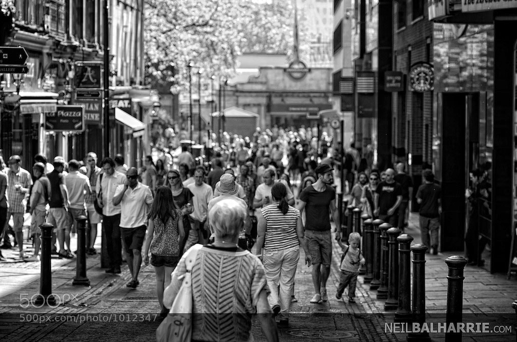 Photograph Hustle & Bustle by Neil Balharrie on 500px