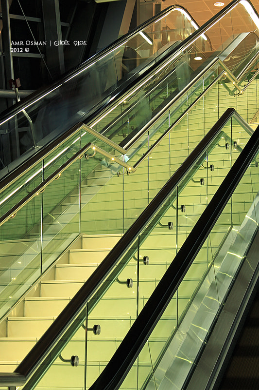 Photograph Stairs by Amr Osman on 500px