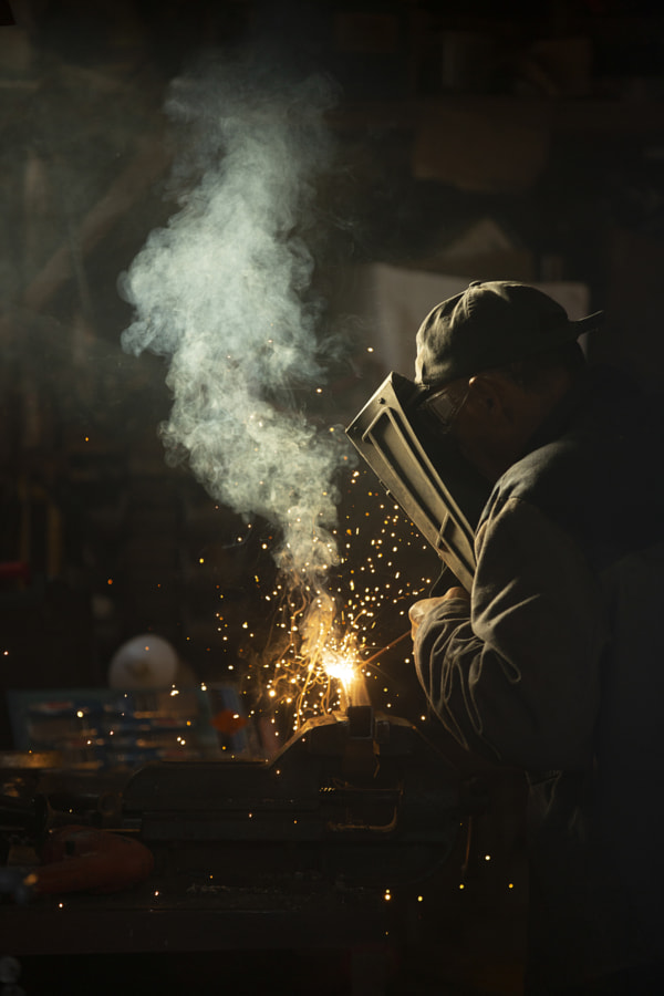Welding at Home by Jure Batagelj on 500px.com