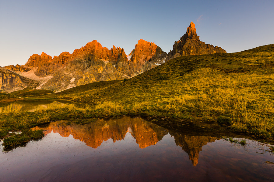 Photograph Glowing Peaks by Hans Kruse on 500px