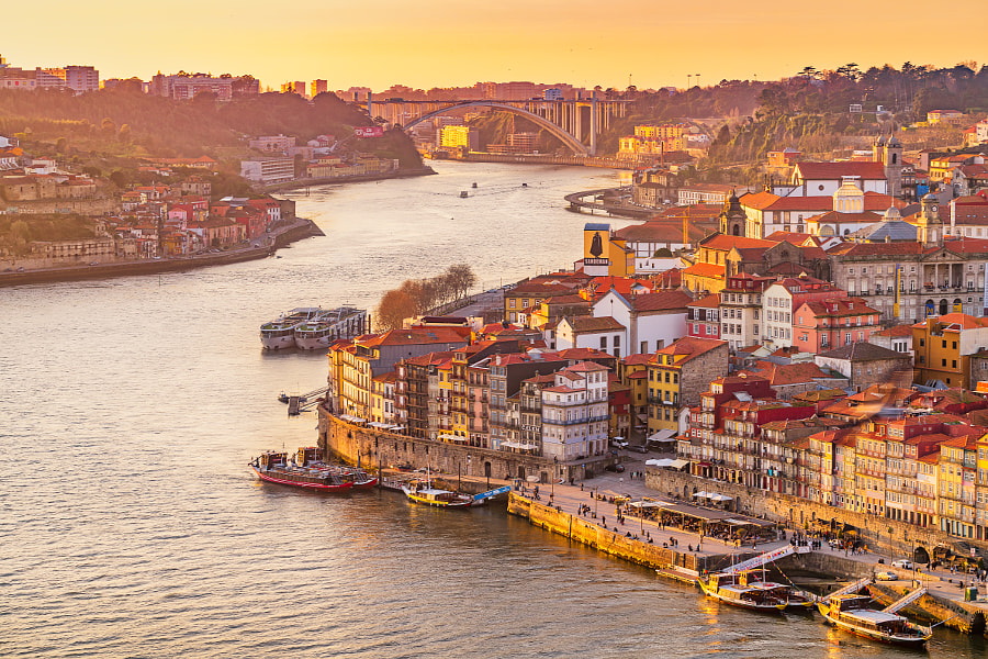 Porto Sunset by Earl Collins on 500px.com