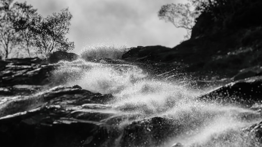 Steall Falls Scotland