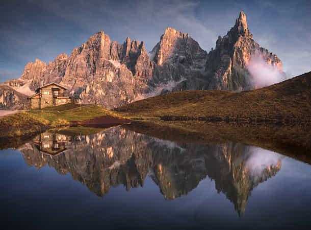 Dolomite mirror by Heiko Podleska