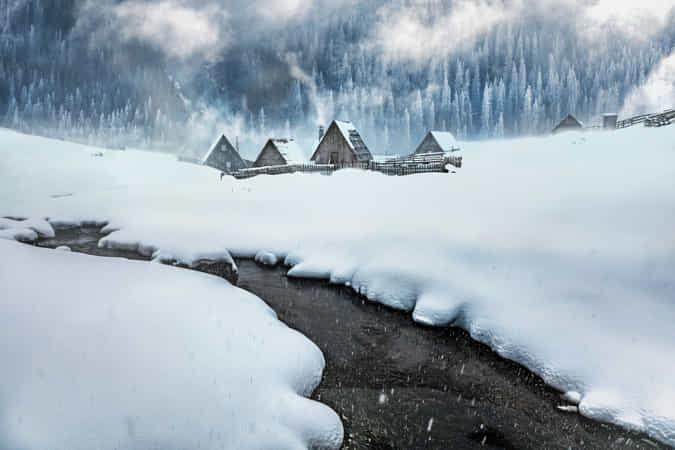 Blue Winter by Adnan Bubalo