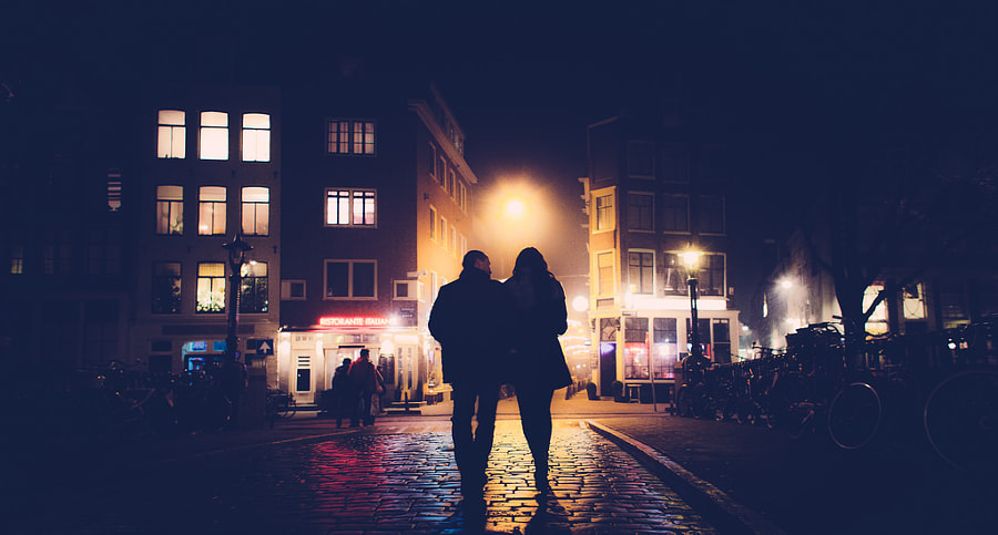 Photograph One Night In Amsterdam by Marius Vieth on 500px