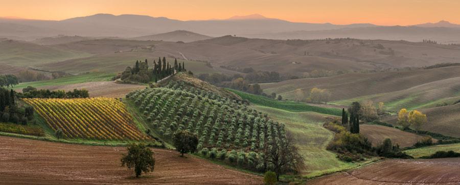 Morning in Tuscany by Sergey Aleshchenko on 500px.com