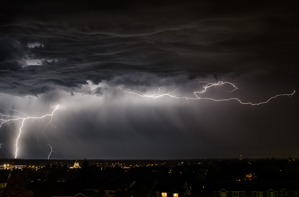 Photograph Captial Lightning by Scott Wood on 500px