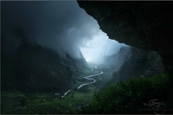 Descent to Rivendell by Enrico Fossati