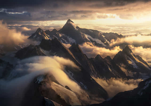 In the Sea of Storms by Marc Adamus