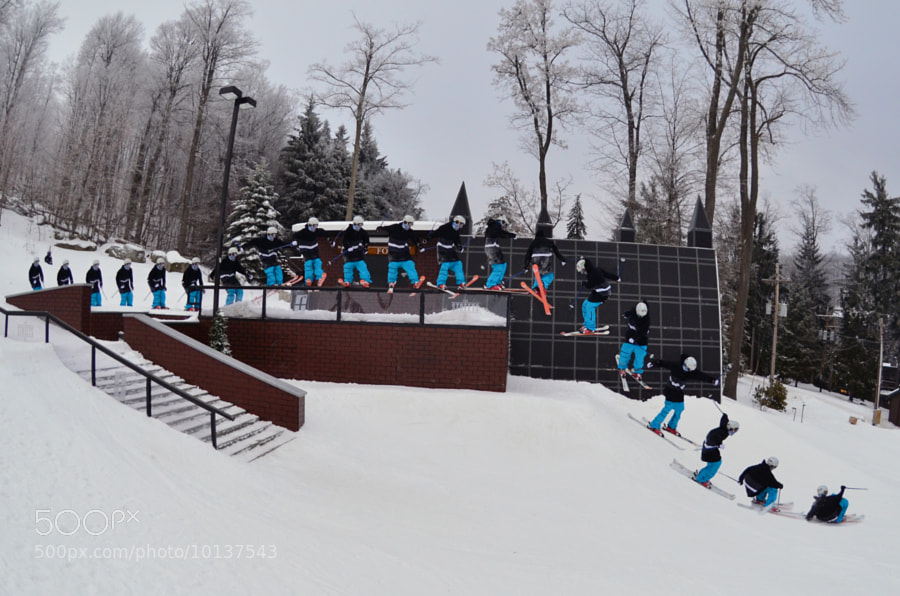 Shot this sequence of rider David Taylor at 7 Springs Resort. 