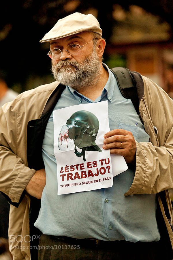 Photograph Spanish revolution by Lujó Semeyes on 500px