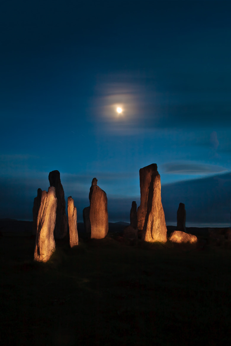 Photograph Illuminating Callanish by Sean Ellingham on 500px