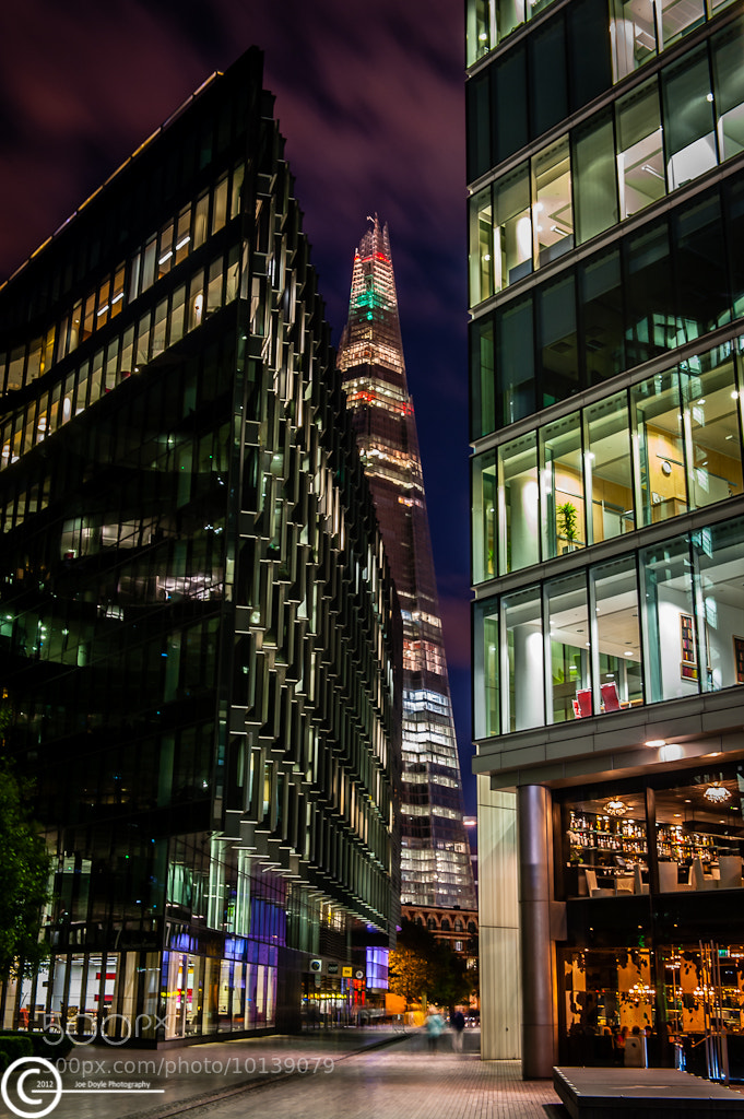 Photograph The Shard from More London by Joe Doyle on 500px