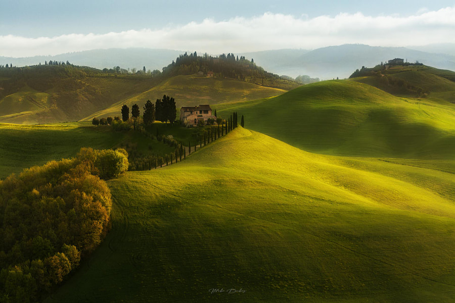 Tuscan hills by Ildikó Bakos on 500px.com