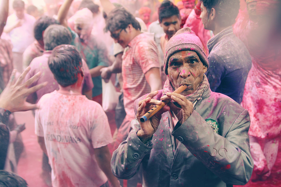 Holi Melody by Utkarsh Chaturvedi on 500px.com