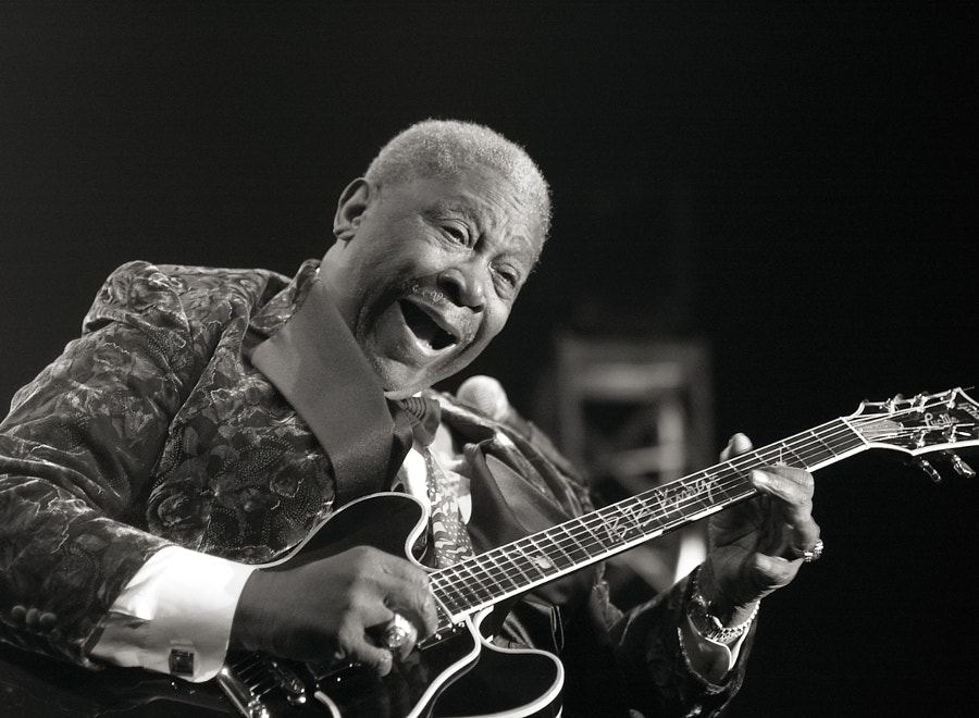 Photograph BB King by John Gillooly on 500px