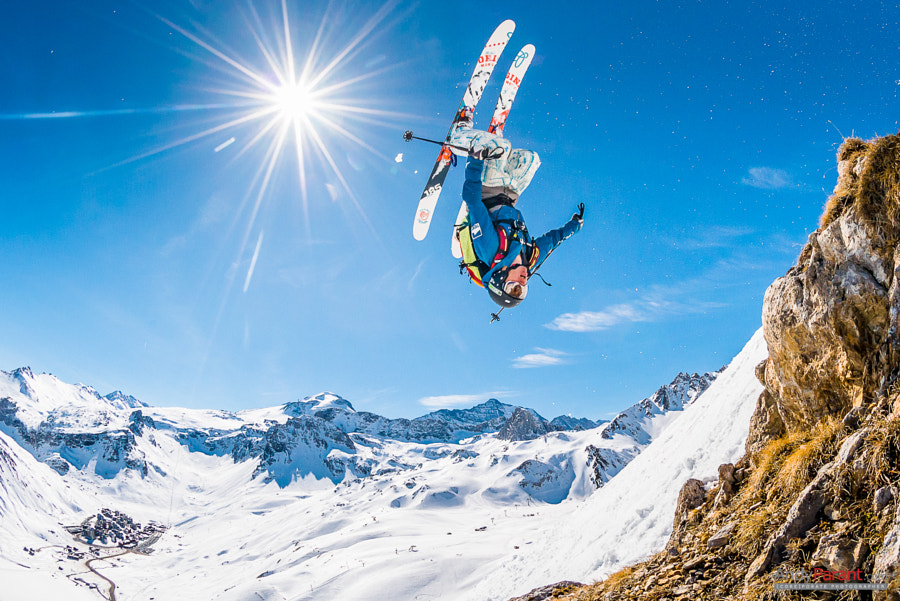 Photograph Backflip over Tignes by Andy Parant on 500px