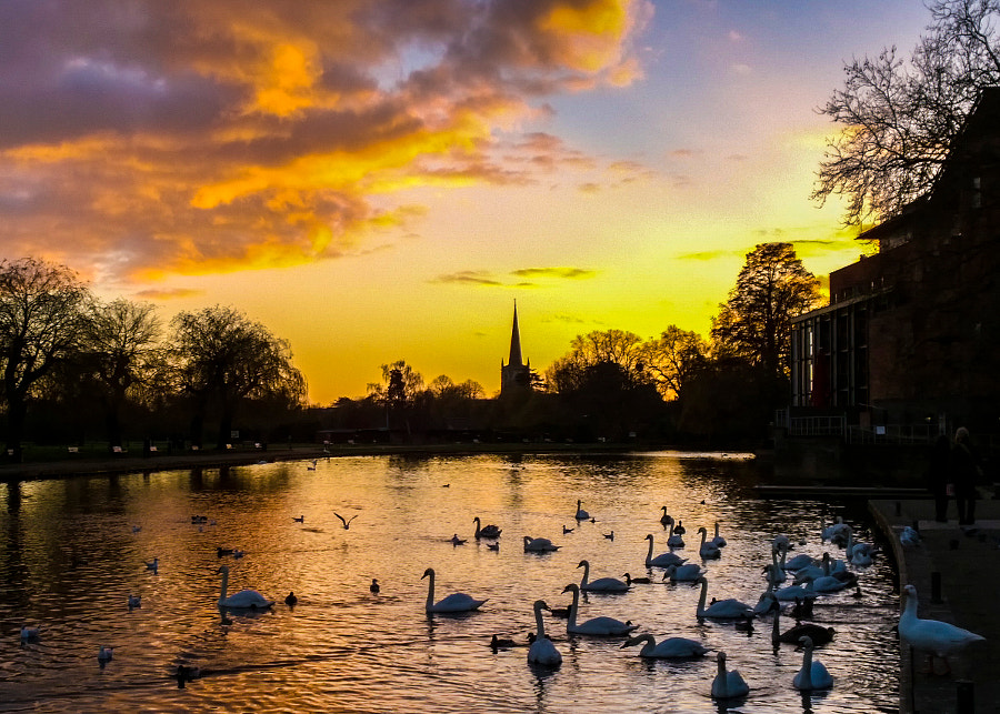 Colourful Sunset - Stratford