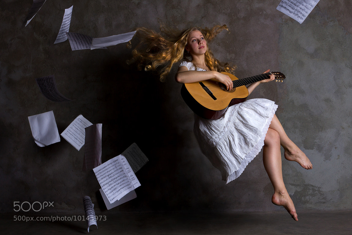 Photograph Flight with guitar by Alexey Kim on 500px