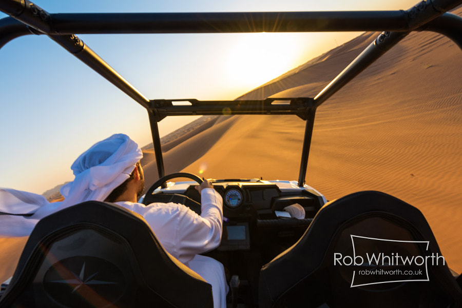 Photograph Dune Bashing POV - Dubai Flow Motion by Rob Whitworth on 500px