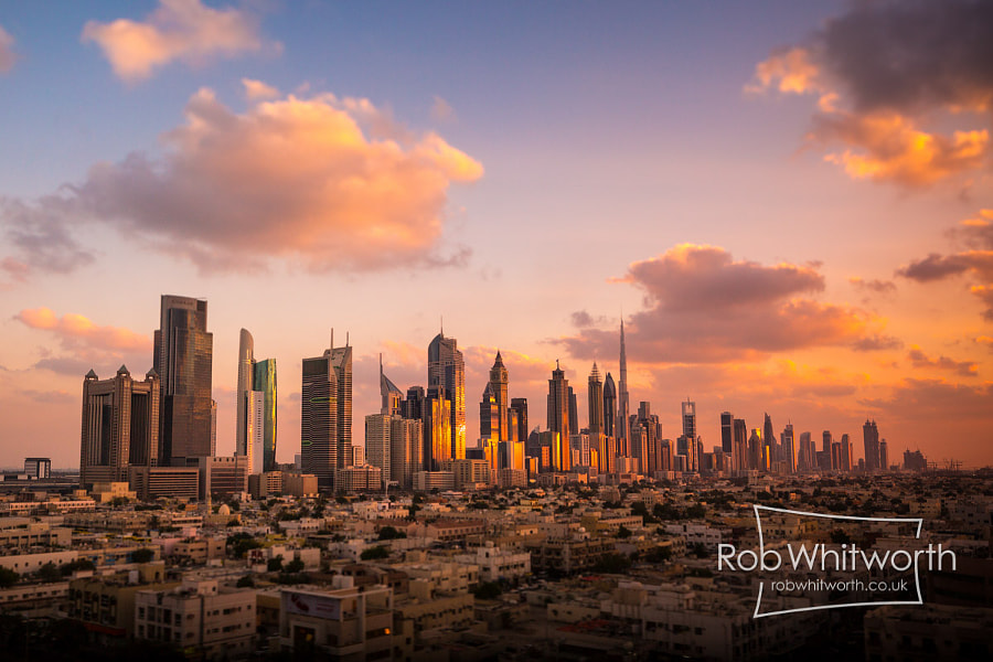 Photograph Skyline - Dubai Flow Motion by Rob Whitworth on 500px