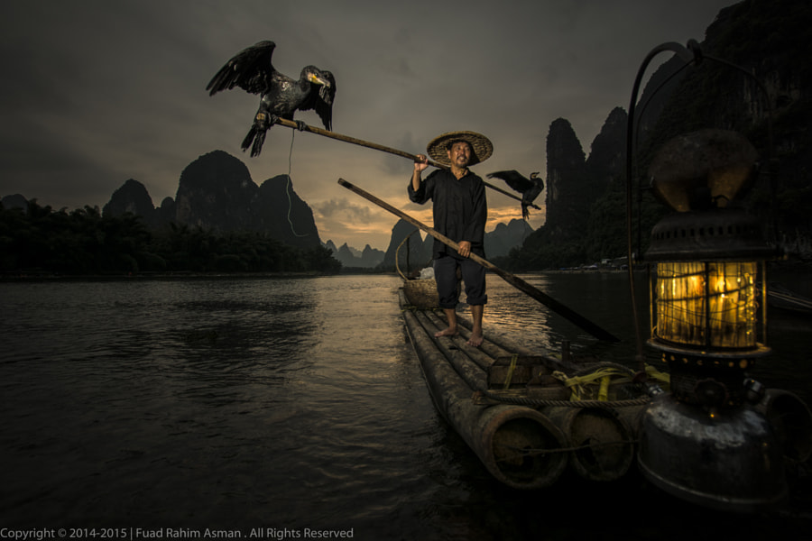 Fisherman with smiling... by Fuad Rahim Asman on 500px.com