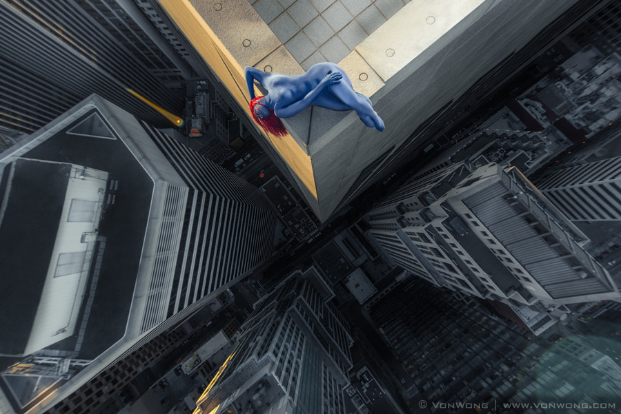 Rooftop Superheroes - Mystique by Benjamin Von Wong on 500px.com