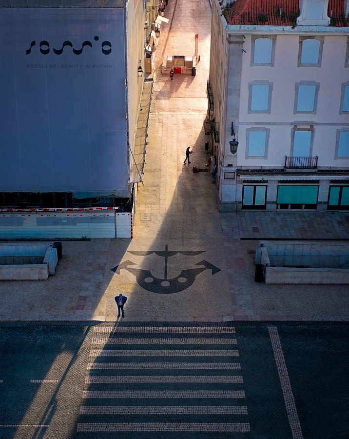 Empty Lisbon from above by Artur Carvalho on 500px.com