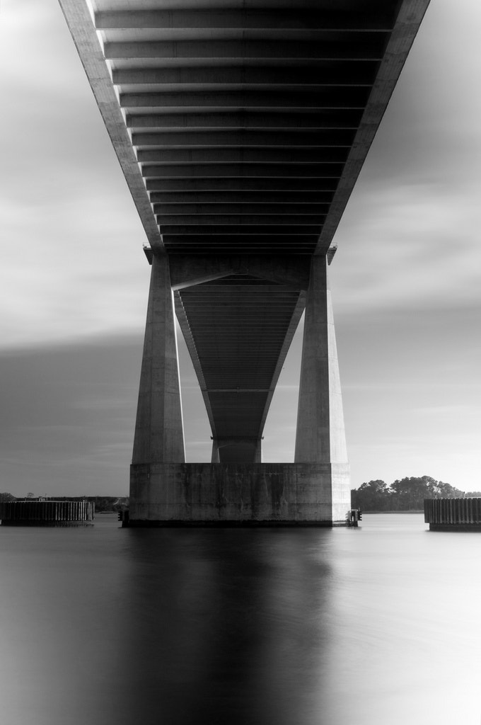 Photograph Dames Point In B/W by Ernest Koe on 500px