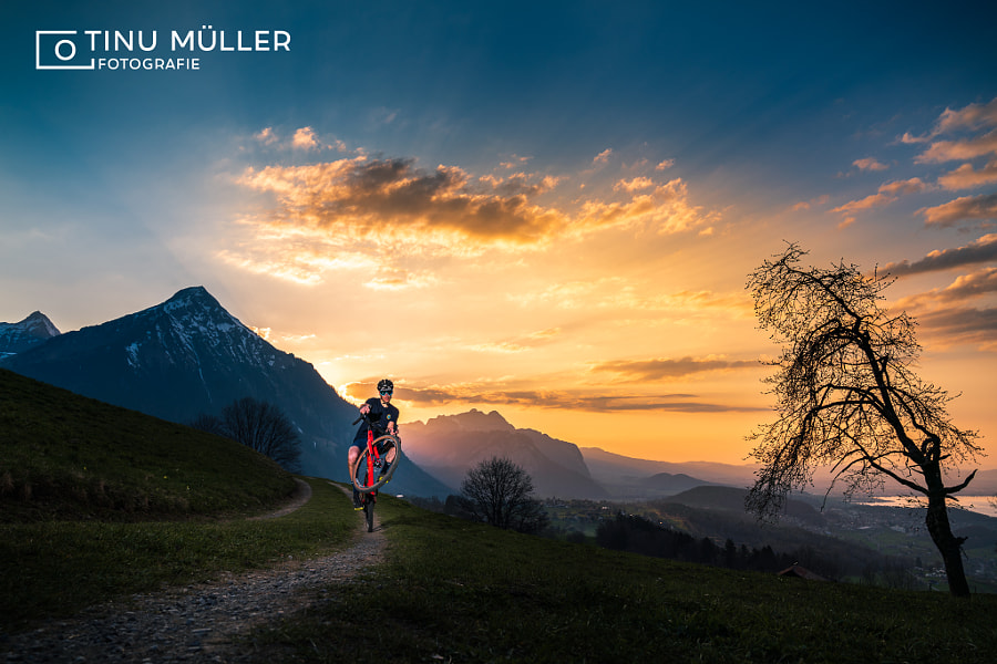 Sunset ride by Tinu Müller on 500px.com