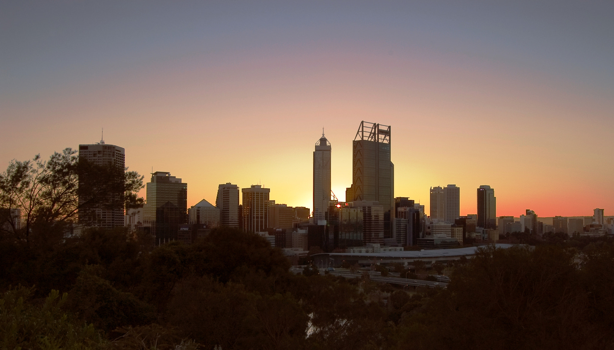 Photograph City sunrise by Peter Field on 500px