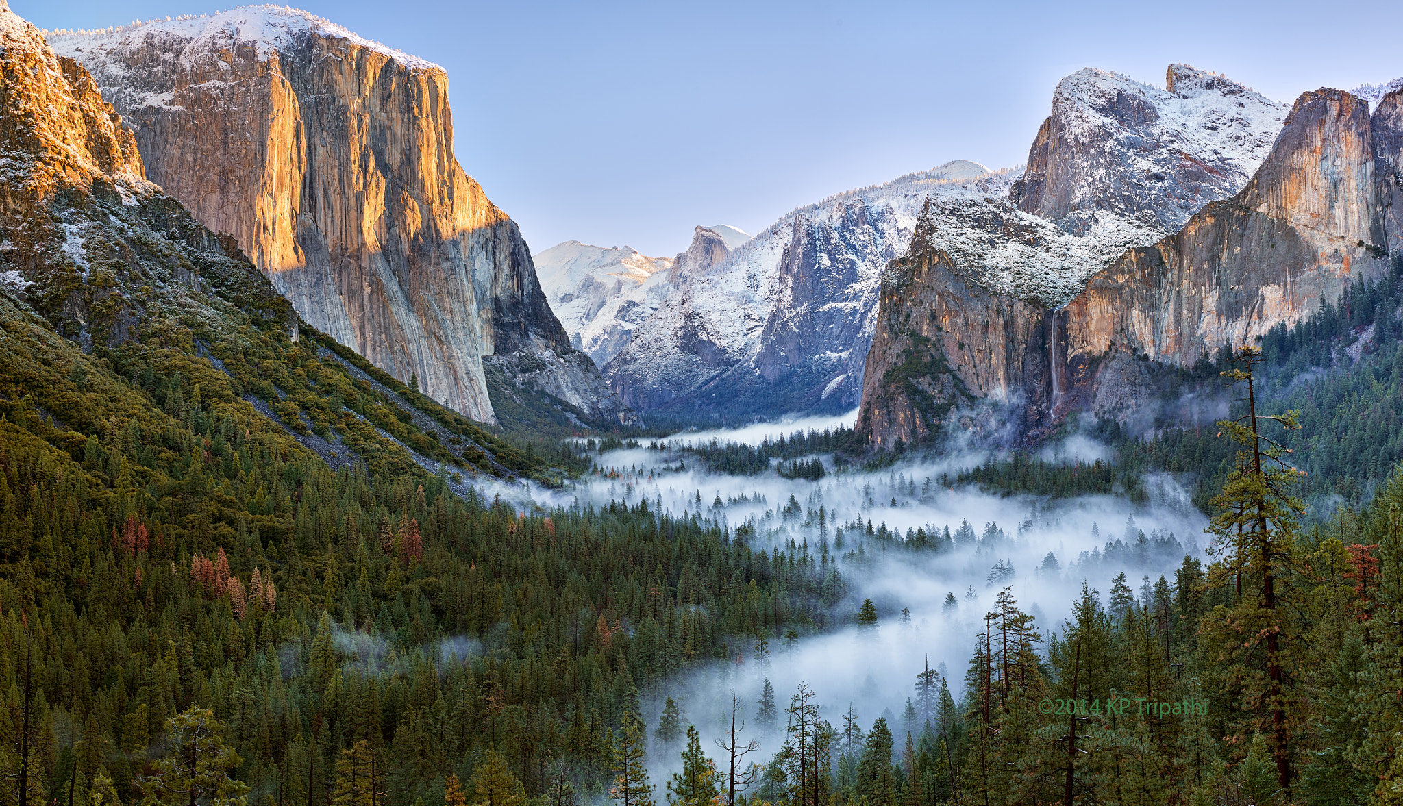 yosemite national park fog - photo #4