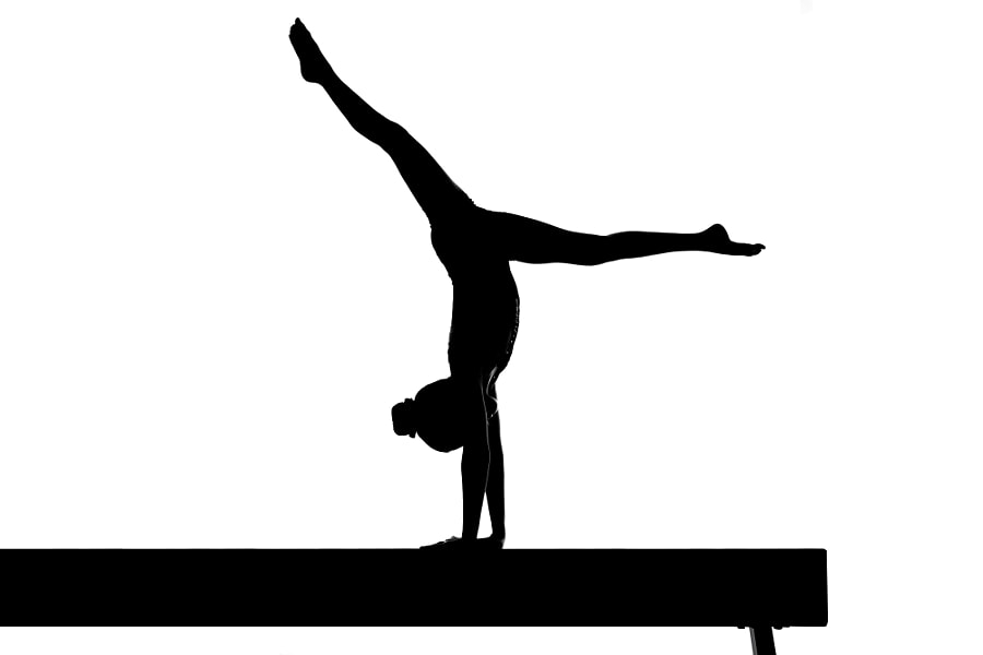 Gymnastics Silhouette  by Dave Wood on 500px.com