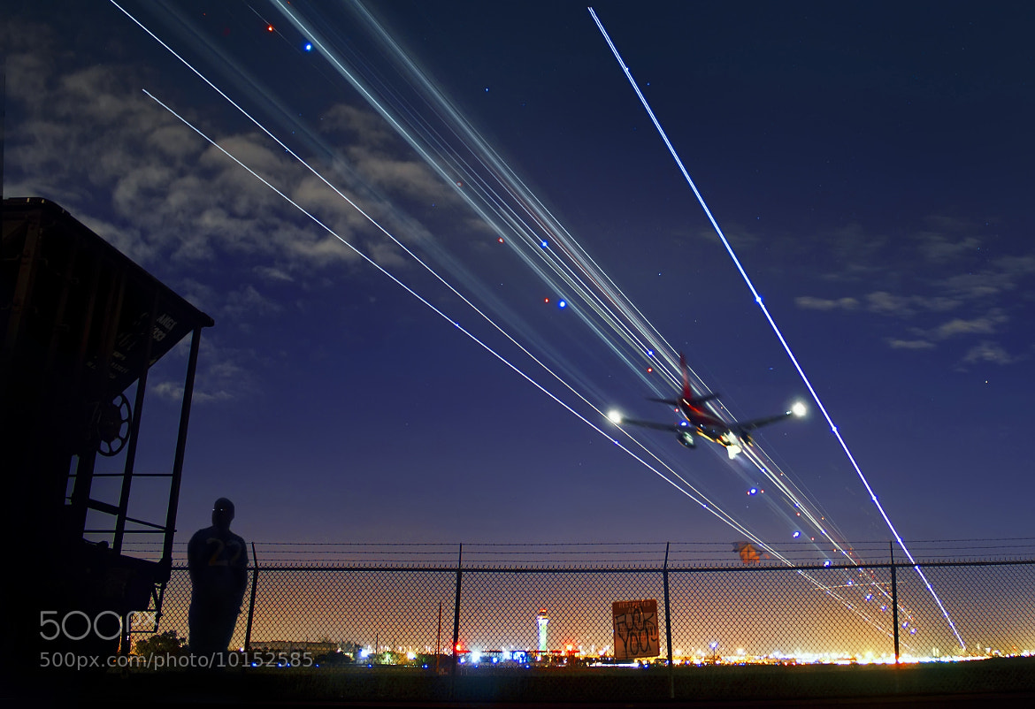 Photograph Air Traffic II by J Henry on 500px